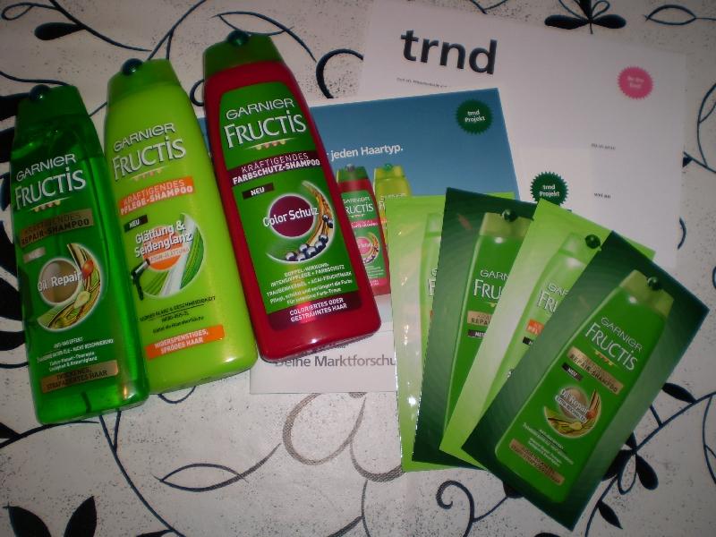 #0058 [Review] Fructis Shampoo Test über trnd
