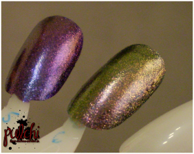 Accessorize nail polish shade 40 Purple Dream & 38 Aztec