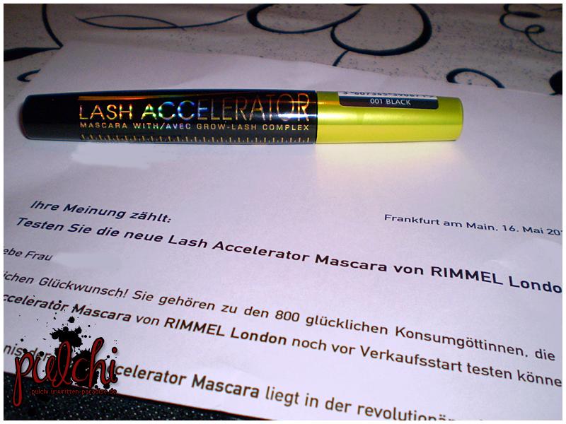 #0117 [Review] Lash Accelerator von Rimmel London