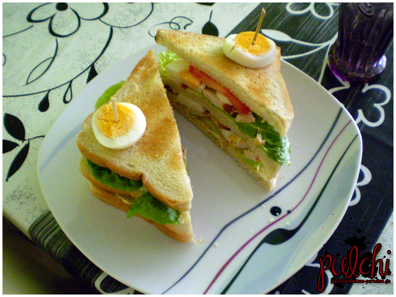 #0176 [Rezept] Chicken-Club-Sandwich