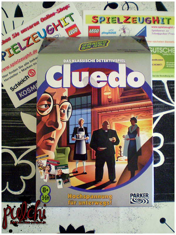 #0173 [Review] Cluedo ~ Hochspannung für unterwegs