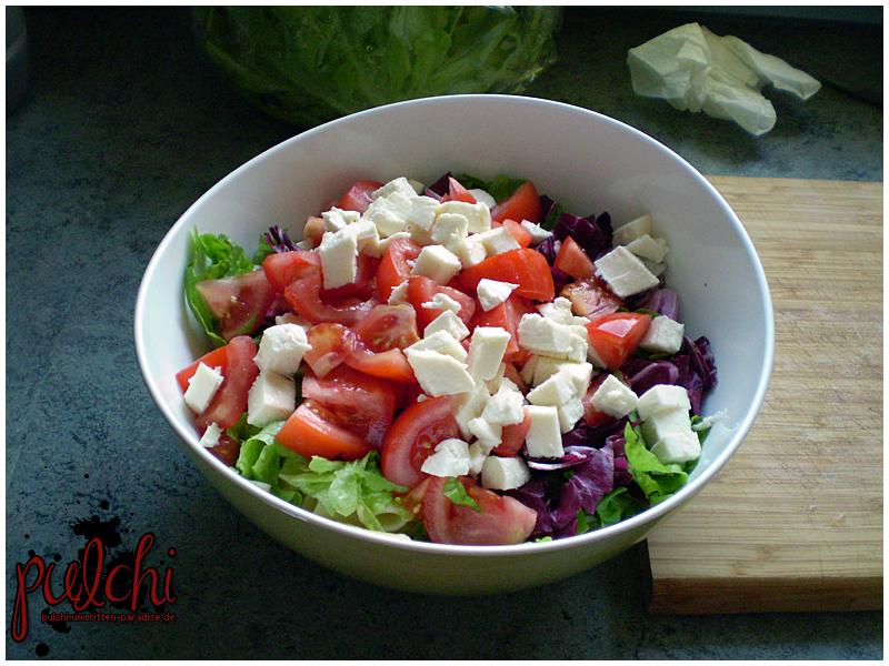 #0198 [Rezept] Tomaten-Nudelsalat