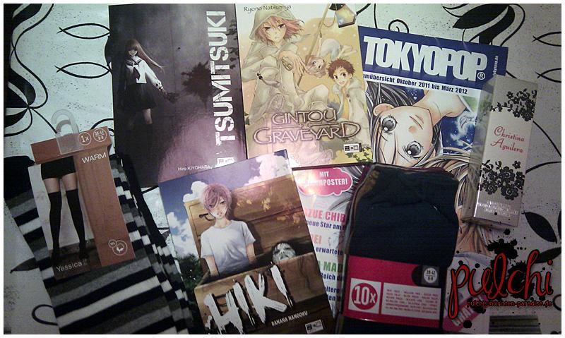 #0208 [Shopping + Gewinn] Von Manga, Strümpfen und Bürsten