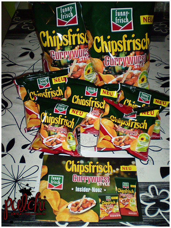 #0217 [Review] funny-frisch Chipsfrisch Currywurst Style