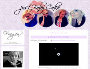 #0242 [Spotlight] justBabyCake.blogspot.com