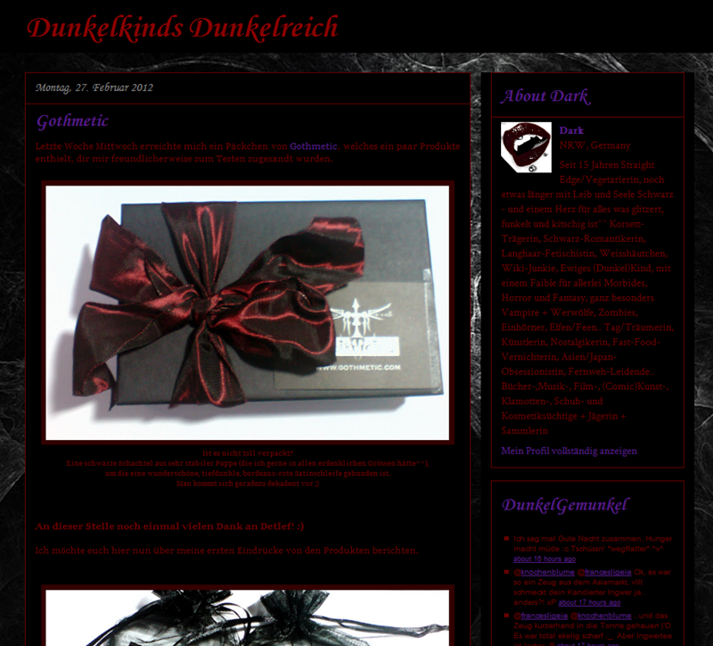 #0258 [Spotlight] Darkmoonchylde.blogspot.com