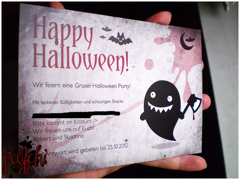 fertige Halloween Karten