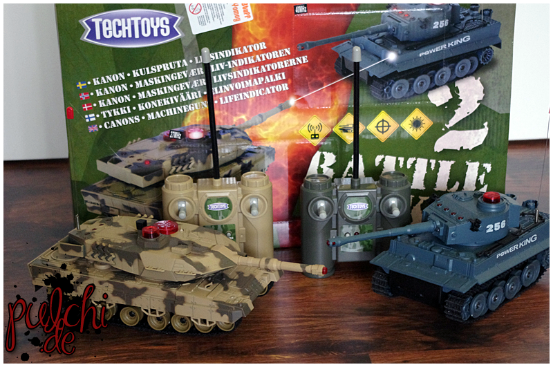 #0276 [Review] TechToys Battle Tanks