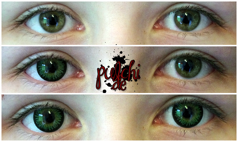 #0286 [Review] Circle Lenses ~ Max Misty Green