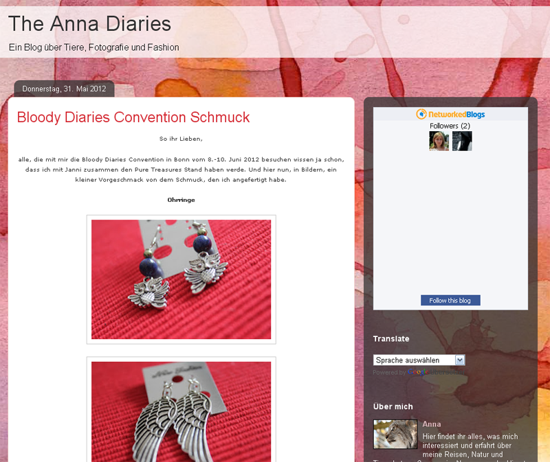 #0291 [Spotlight] The-Anna-Diaries.blogspot.de