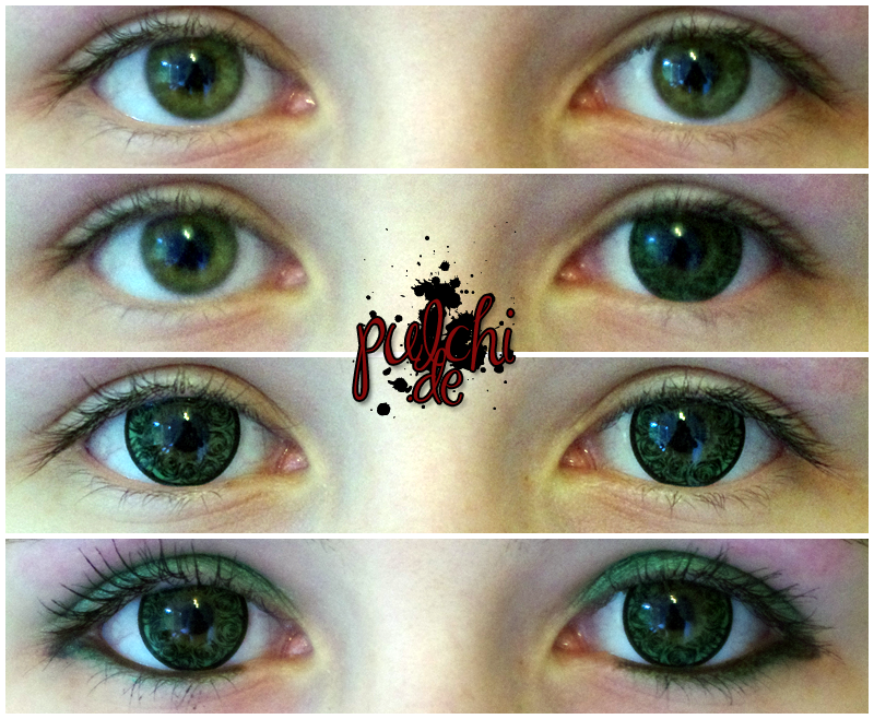 #0306 [Review] Circle Lenses ~ Rosie de Rose Green