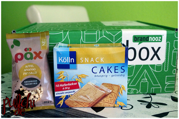 PÄX Food Knsupriger Frucht-Mix    Kölln Cakes