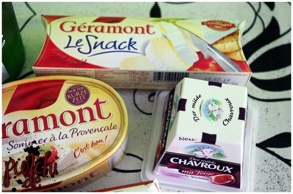Géramont Sommer à la Provençale || Géramont Le Snack || Chavroux mit Feige