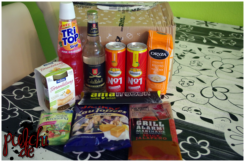 #0424 [Review] Degustabox Juli 2014