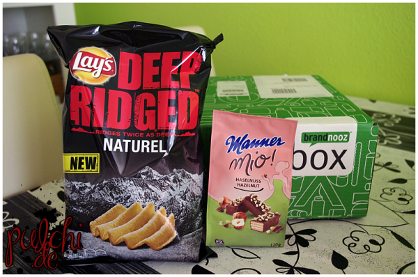 Lay's Deep Ridged Naturel || Manner Mio! Haselnuss