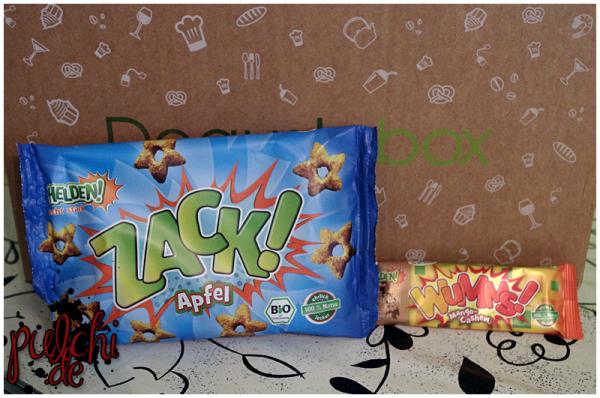 HELDEN! ZACK! Apfel || HELDEN! WUMMS! Mango Cashew