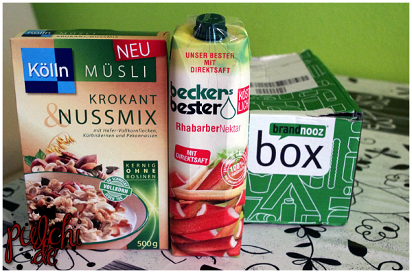 Kölln Müsli Krokant&Nussmix || beckers bester Rhabarber-Nektar