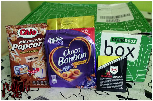 Chio Mikrowellen Popcorn || Milka Choco Bonbon || Guaraná Brause Himbeere