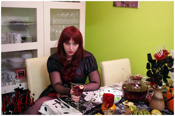 Blutrünstige Vampir Lady