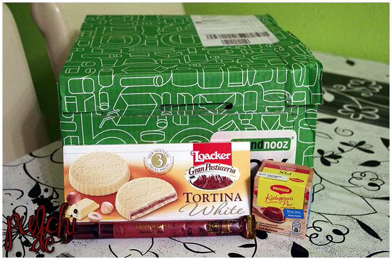 Loacker Gran Pasticceria Tortina || Maggi Fix Kochgenuss Pur Spaghetti Bolognese || Rausch Plantagen-Schokolade