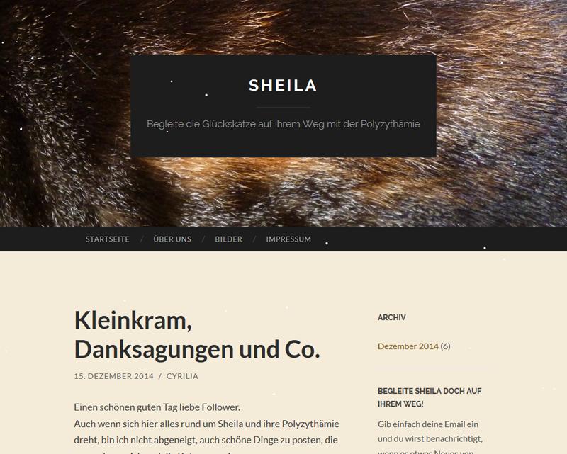 #0443 [Spotlight] Sheila ~ Begleite die Glückskatze auf ihrem Weg mit der Polyzythämie