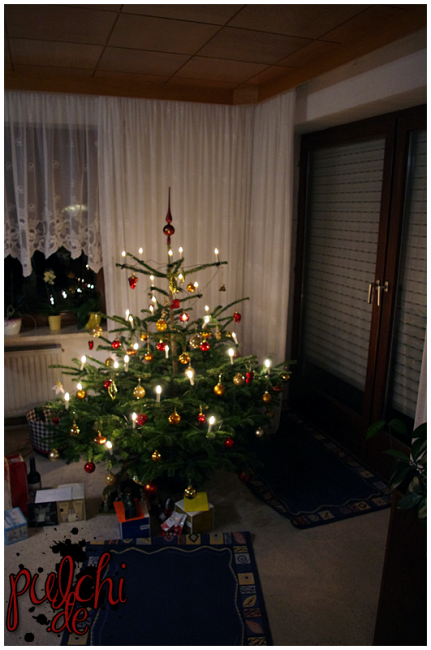 Weihnachtsbaum 2014 ~ Shirisu's Eltern