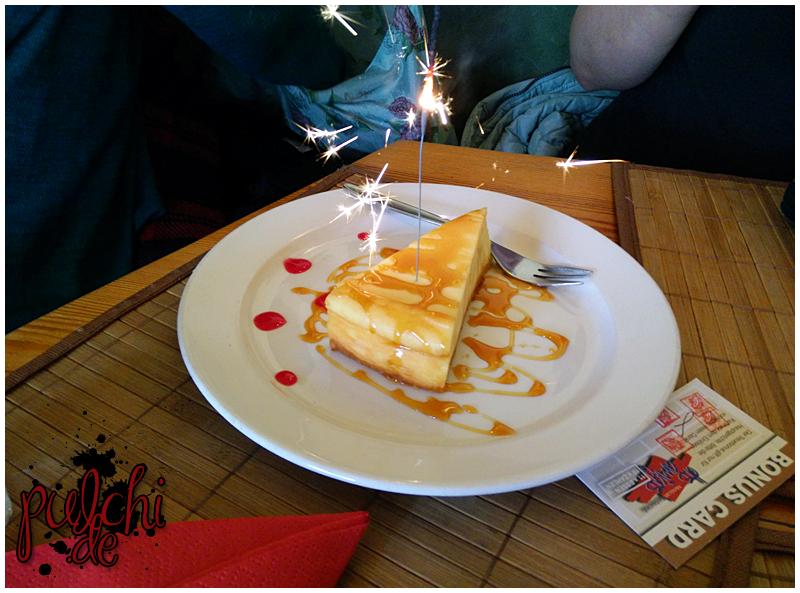 Cheese Cake für (Geburtstags)Kollegin