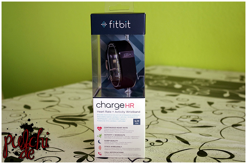 #0463 [Review] Fitbit Charge HR ~ Part 1