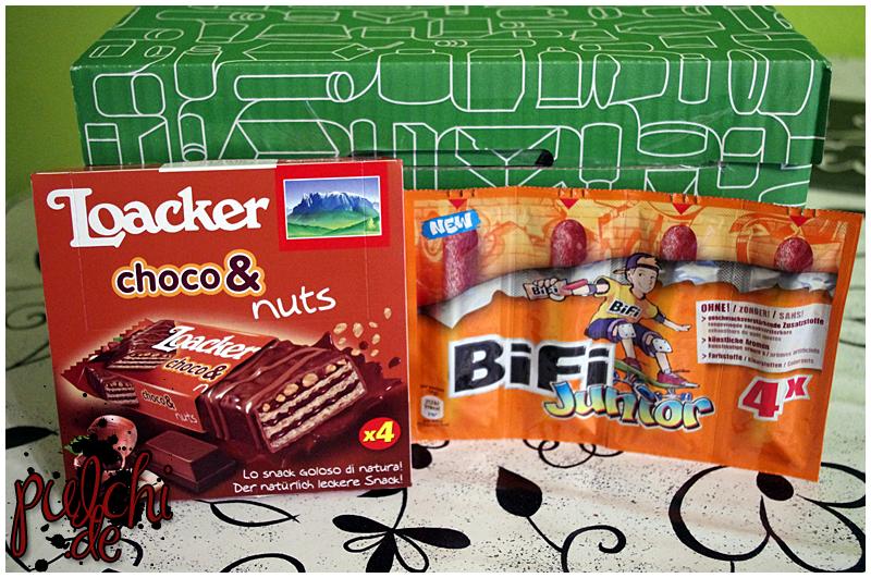 Loacker choco& nuts || BiFi Junior