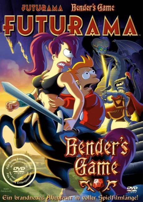 Futurama ~ Bender's Game