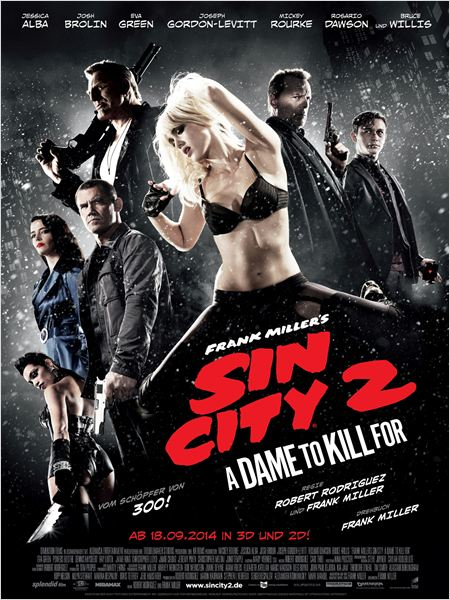 Sin City 2 ~ A dame to kill for