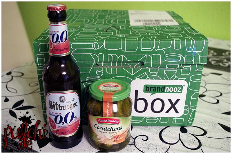 "Bitburger 0,0% Grapefruit Alkoholfrei || Hengstenberg Cornichons ""Ingwer-würzig"""