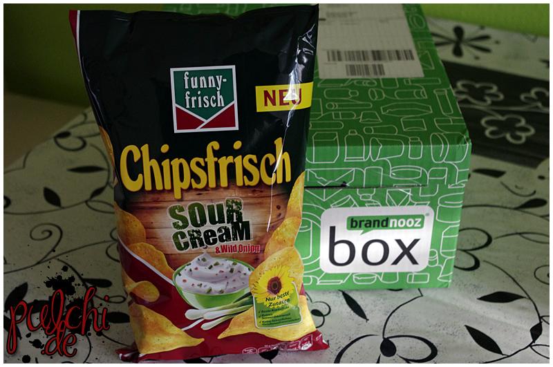 """funny-frisch Chipsfrisch """"Sour Cream & Wild Onion"""""""