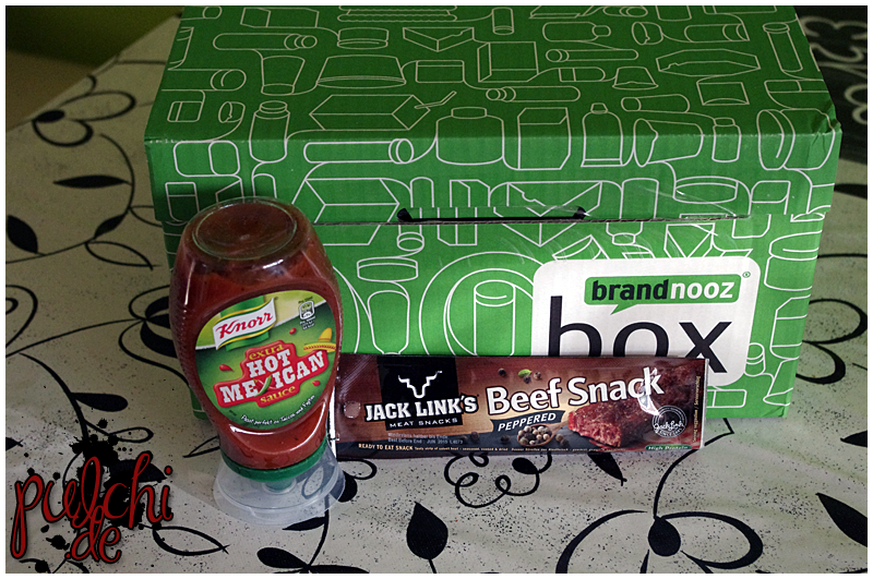 """Knorr Hot Mexican Sauce im Squeezer 