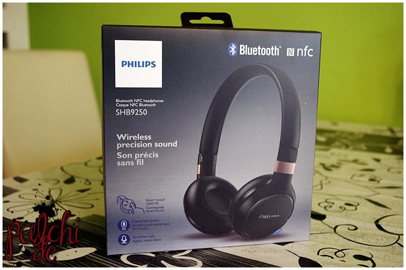 Philips Kabellose Bluetooth-Kopfhörer SHB9250