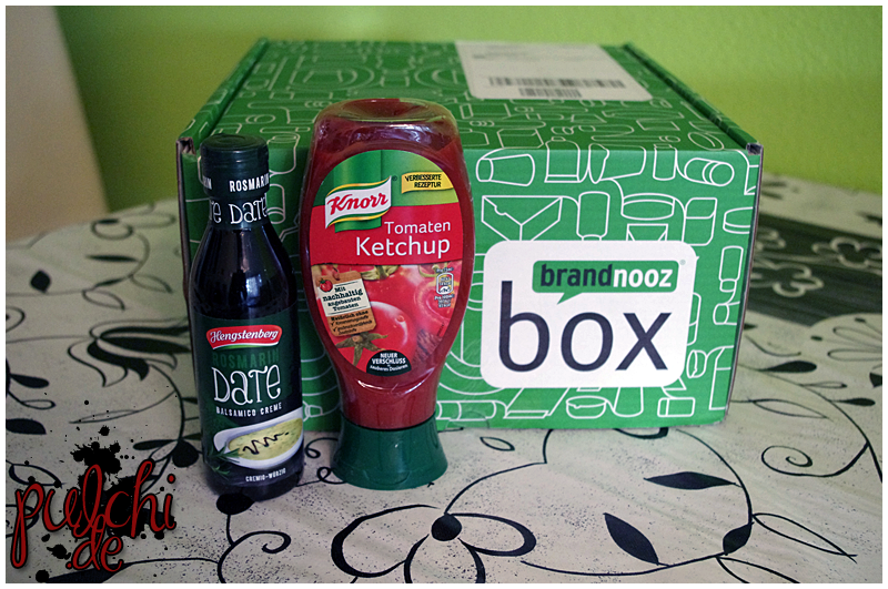 "Hengstenberg Balsamico-Creme ""Rosmarin Date"" || Knorr Tomaten Ketchup"