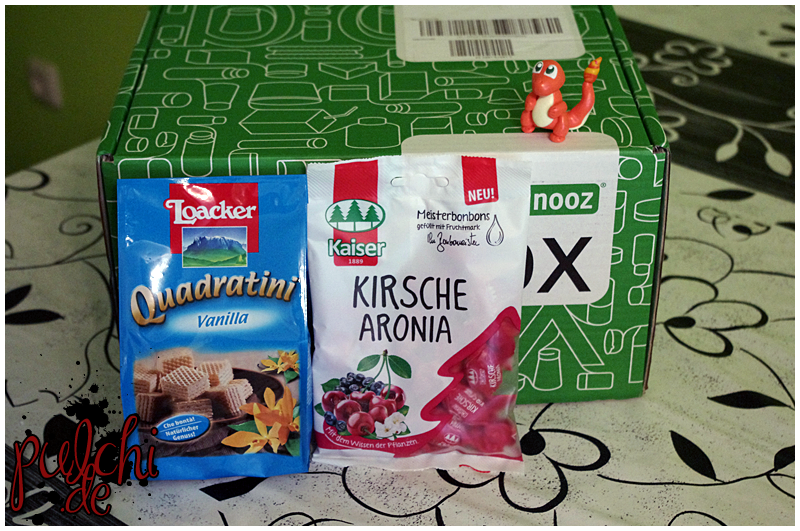 "Loacker Quadratini Vanilla || Bonbonmeister® Kaiser ""Kirsche Aronia"""