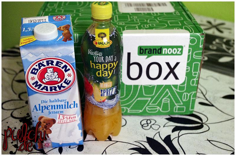 """Bärenmarke H-Milch fettarm    Rauch Happy Day Sprizz """"Mango"""""""