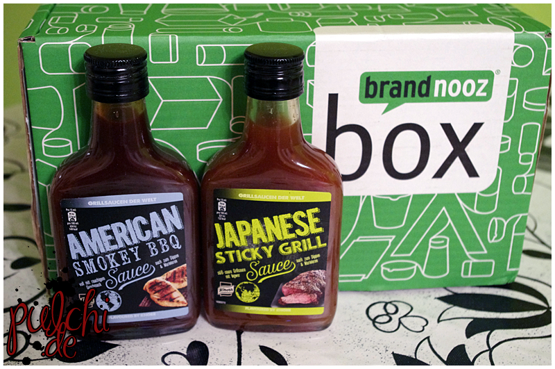 Knorr American Smokey BBQ Sauce    Knorr Japanese Sticky Grill Sauce
