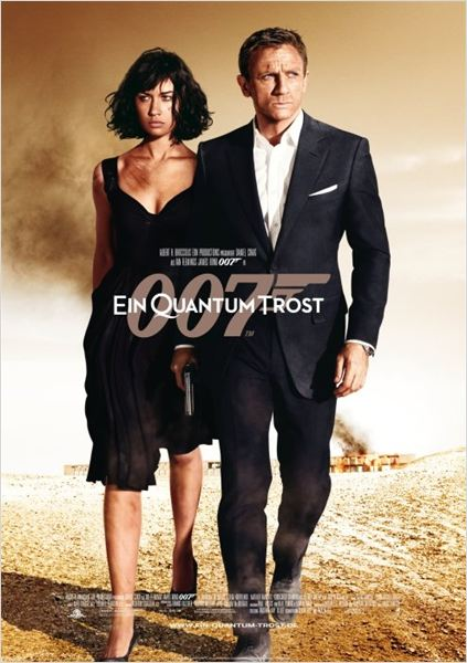 James Bond 007 ~ Ein Quantum Trost