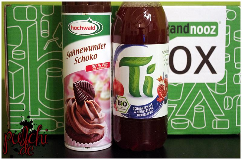 """Hochwald Sahnewunder """"Schoko""""    Ti Schwarzer Tee & Heidelbeere Granatapfel"""