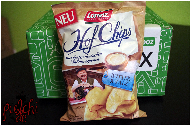 "Lorenz Snack-World HofChips ""Butter & Salz"""
