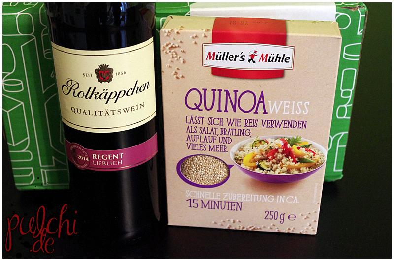 Rotkäppchen Regent Lieblich || Müller's Mühle Quinoa