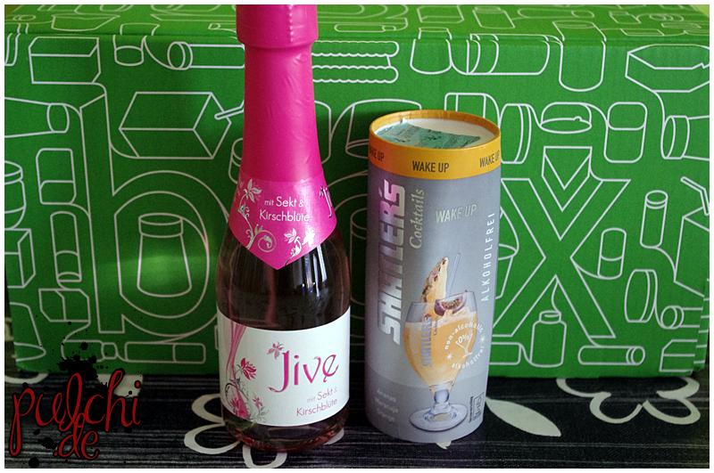 Jive mit Sekt & Kirschblüte    SHATLER's Cocktails Wake Up