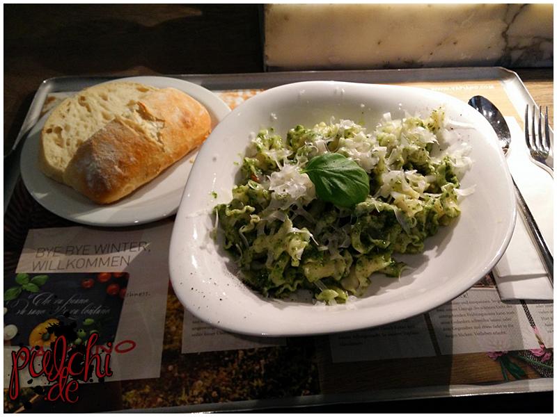 Pesto Basilico mit Campanelle