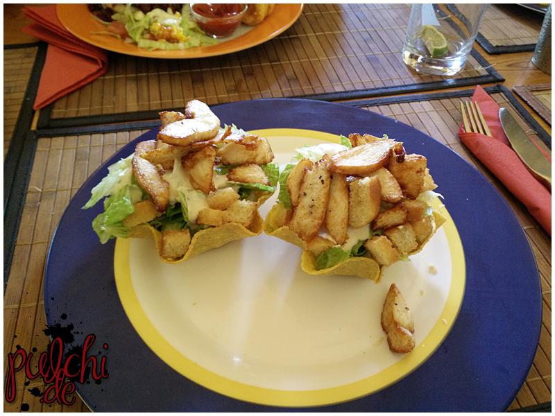 Cesar Salad Taco