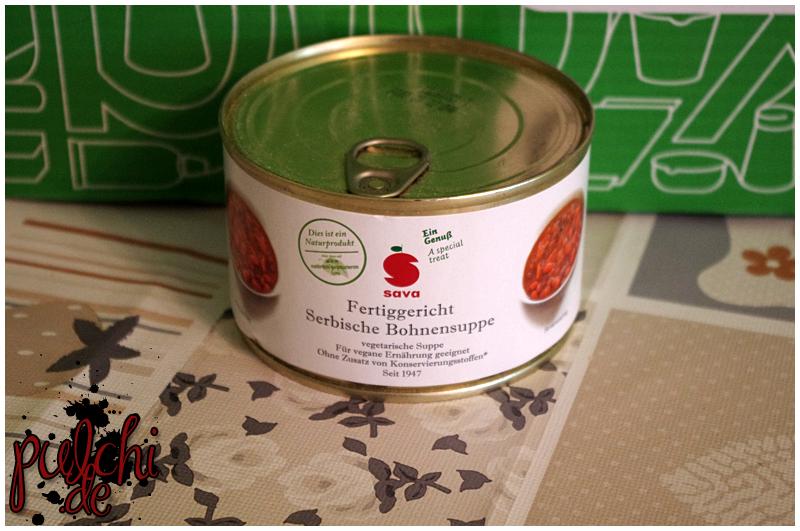 """SAVA Fertiggericht """"Serbische Bohnensuppe"""""""