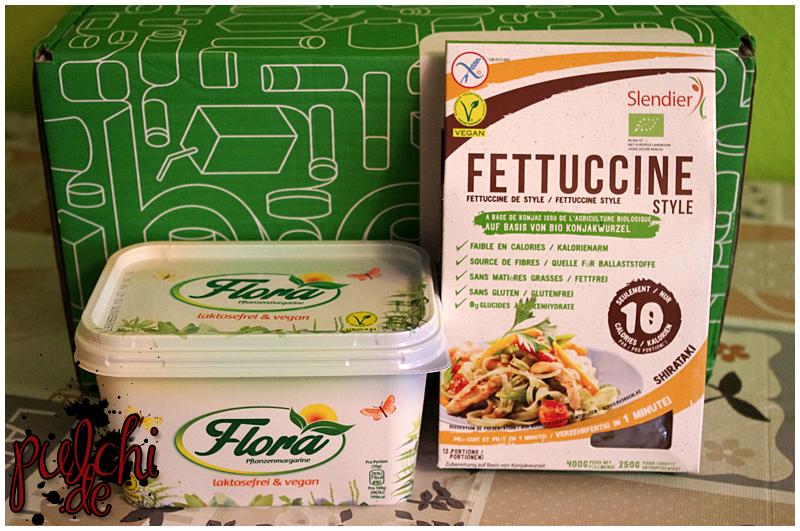 Flora Pflanzenmargarine    Slendier Bio Konjak Fettuccine Style