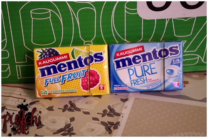 Mentos Kaugummi Full Fruit Pocketbox || Mentos Kaugummi Pure Fresh Mint Pocketbox