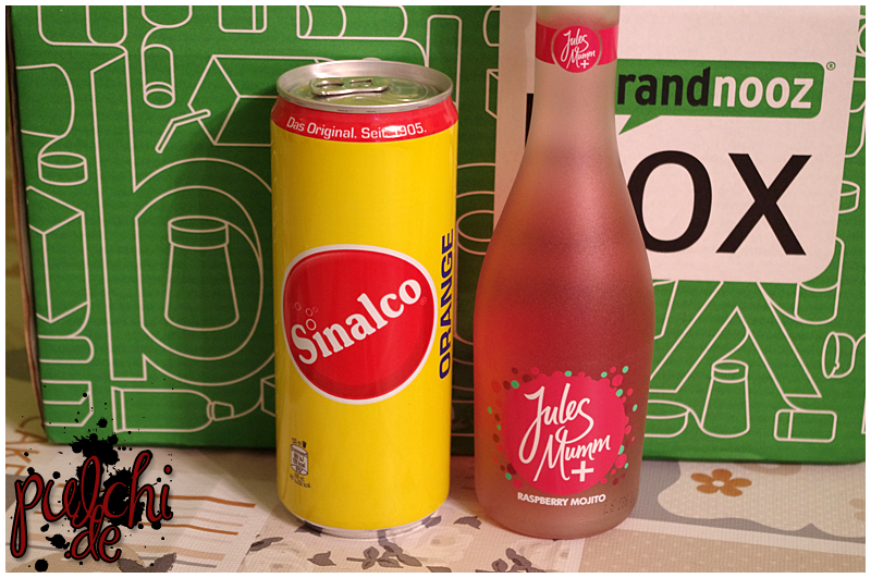 "Sinalco Orange || Jules Mumm Plus ""Raspberry Mojito"""